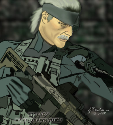 Old Snake from Metal Gear Solid 4